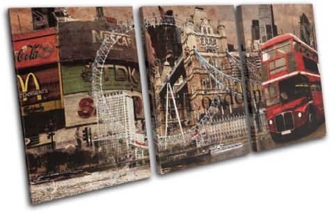 London Vintage Collage City - 13-6005(00B)-TR21-LO